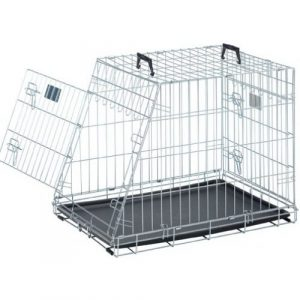 ZOOSHOP.ONLINE - Интернет-магазин зоотоваров - Savic Dog Residense Mobile 91cm - Металлическая клетка для машины