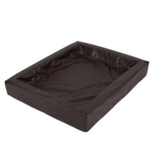 ZOOSHOP.ONLINE - Интернет-магазин зоотоваров - Кровать для собак Гигиеничная цвет табак   60 x 50 см