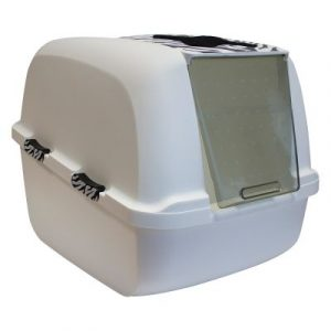 ZOOSHOP.ONLINE - Интернет-магазин зоотоваров - Catit Jumbo White Tiger - туалет для кошек