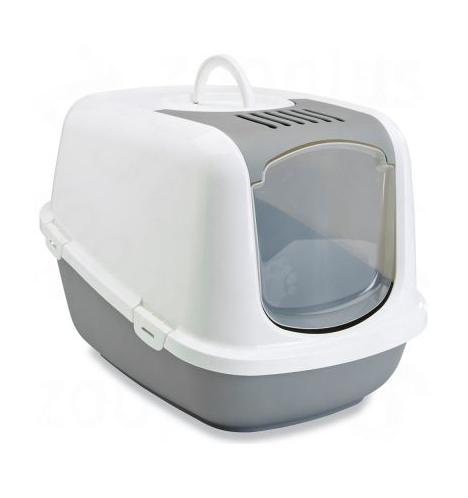 ZOOSHOP.ONLINE - Zoopreču internetveikals - SAVIC Nestor Jumbo tualete īpaši lielām šķirnēm - pelēka