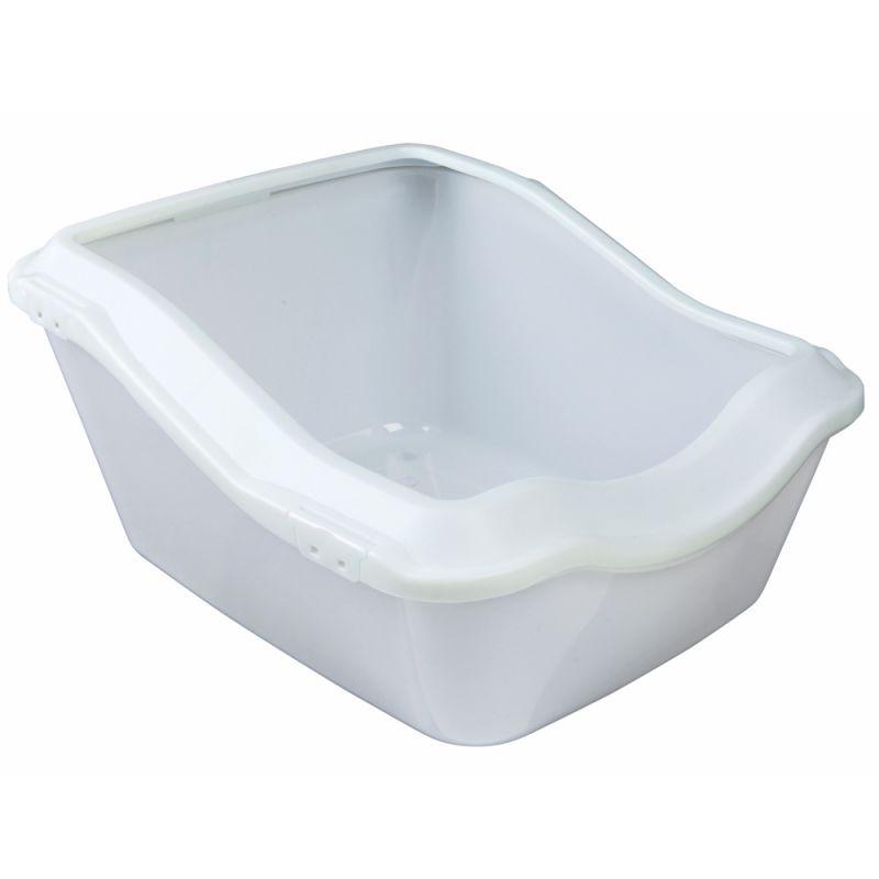 ZOOSHOP.ONLINE - Zoopreču internetveikals - SAVIC tualete kaķiem ar bortiņu 56 x 39 x 27.5 сm