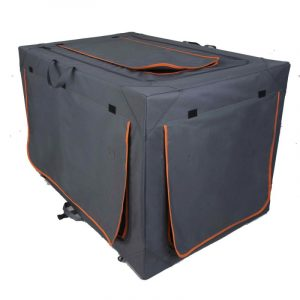 ZOOSHOP.ONLINE - Интернет-магазин зоотоваров - Складная тканевая переноска ALU для собак 106 см
