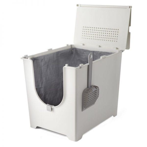 ZOOSHOP.ONLINE - Zoopreču internetveikals - Modko Flip  tualete kaķiem