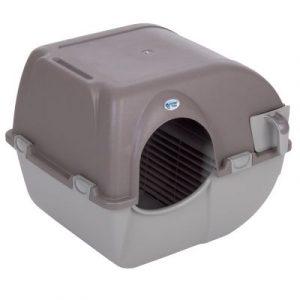 ZOOSHOP.ONLINE - Интернет-магазин зоотоваров - Туалет для кошек Omega Paw Roll'n Clean самоочищающийся