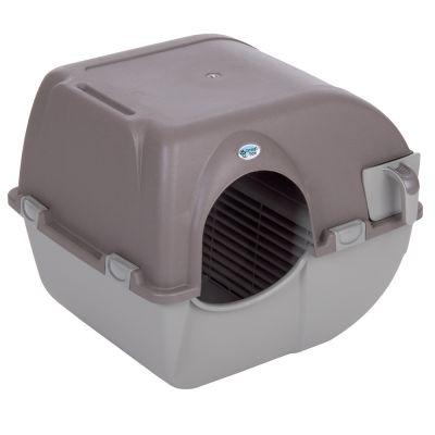 ZOOSHOP.ONLINE - Zoopreču internetveikals - Tualete kaķiem Omega Paw Roll'n  Clean pašattīrīšanās sistēma