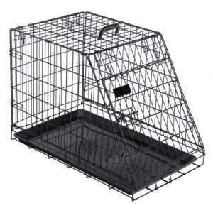ZOOSHOP.ONLINE - Интернет-магазин зоотоваров - Металлическая клетка с наклонной стенкой Ruby Mobile 78 x 48,7 x 56 см
