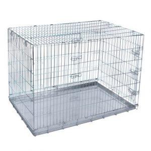 ZOOSHOP.ONLINE - Интернет-магазин зоотоваров - Металлическая клетка Dog Wire 63 x 43 x 49 см