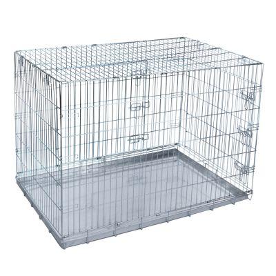 ZOOSHOP.ONLINE - Интернет-магазин зоотоваров - Металлическая клетка Dog Wire 121 x 76 x 82 см