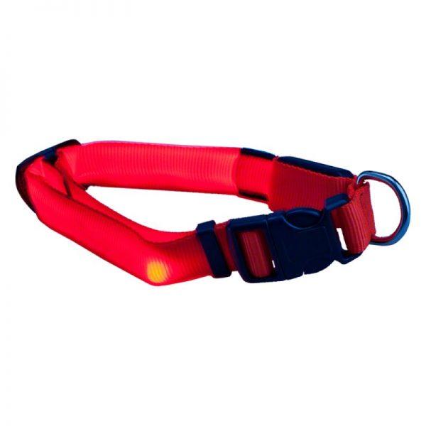 ZOOSHOP.ONLINE - Интернет-магазин зоотоваров - Trixie светодиодный ошейник с тремя режимами S-M 30-40