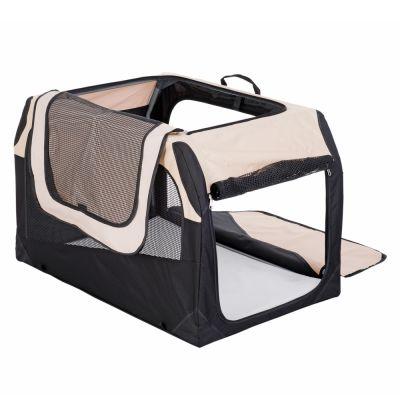 ZOOSHOP.ONLINE - Интернет-магазин зоотоваров - Cкладная тканевая переноска для собак Hunter Transportbox Outdoor 106 см