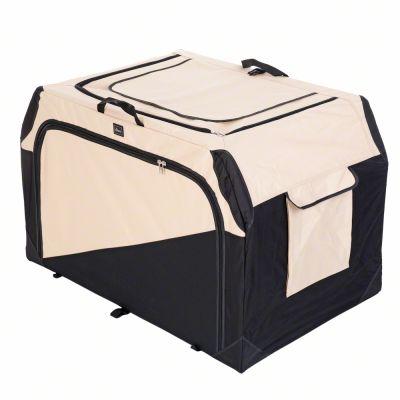 ZOOSHOP.ONLINE - Zoopreču internetveikals - Hunter saliekams auduma būris Transportbox Outdoor XL, L, M