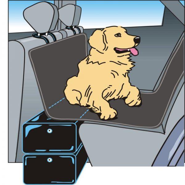 ZOOSHOP.ONLINE - Zoopreču internetveikals - Kleinmetall Gapfill Piepūšamais sēdeklis suņiem