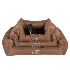 ZOOSHOP.ONLINE - Zoopreču internetveikals - Gulta suņiem Strong & Soft brūna  L, XL, XXL