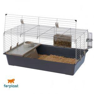 ZOOSHOP.ONLINE - Интернет-магазин зоотоваров - Ferplast Rabbit 100 клетка для мелких животных 95 x 57 x 46 cм