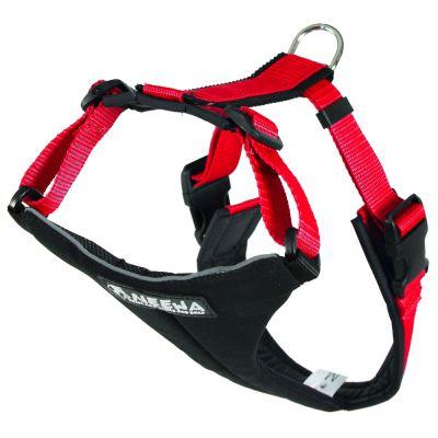 ZOOSHOP.ONLINE - Zoopreču internetveikals - NEEWA Running Harness - Iemaukti sunim  sarkani  M