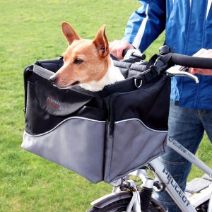 ZOOSHOP.ONLINE - Интернет-магазин зоотоваров - Корзина- сумка для велосипеда Friends on Tour de Luxe