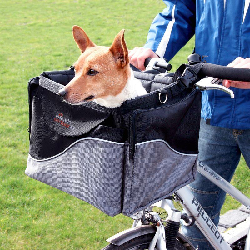 ZOOSHOP.ONLINE - Zoopreču internetveikals - Grozs - soma velosipēdam  Friends on Tour de Luxe