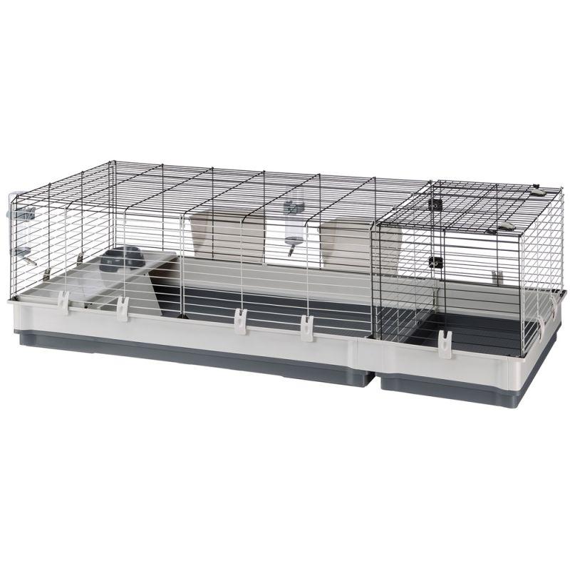 ZOOSHOP.ONLINE - Интернет-магазин зоотоваров - Ferplast Plaza 140 клетка для кроликов