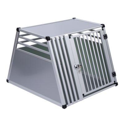 ZOOSHOP.ONLINE - Интернет-магазин зоотоваров - Kлетка для автомобиля Premium Transportbox  Aluminium S,M, L