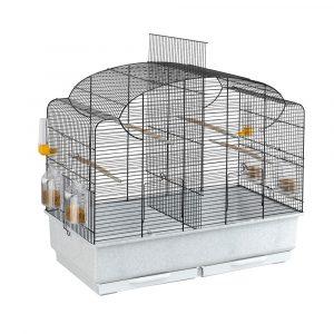 ZOOSHOP.ONLINE - Интернет-магазин зоотоваров - Ferplast Canto kлетка для птиц с разделительной выдвижной решеткой