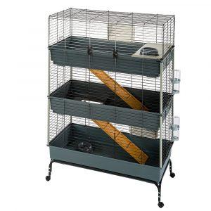 ZOOSHOP.ONLINE - Интернет-магазин зоотоваров - Ferplast Vital 100 клетка 3-этажная для грызунов