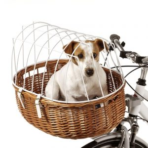 ZOOSHOP.ONLINE - Zoopreču internetveikals - Aumüller grozs velosipēdam ar režģi 70 х  46 х 40 см