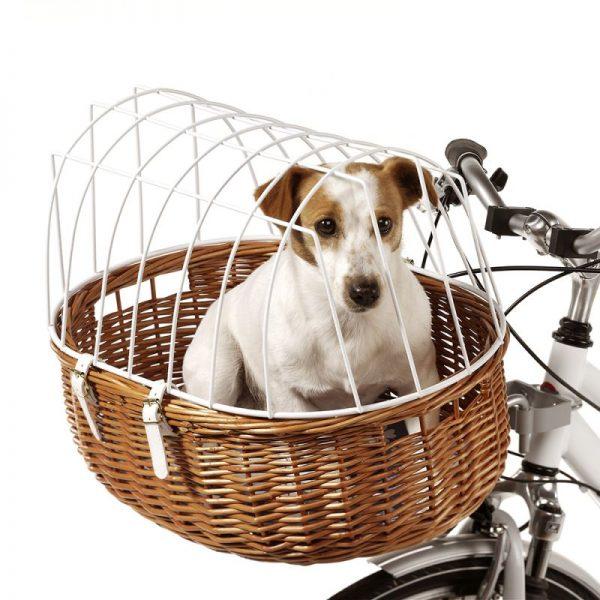 ZOOSHOP.ONLINE - Интернет-магазин зоотоваров - Aumüller велосипедная корзина с сеткой  70 х 46 х 40 см