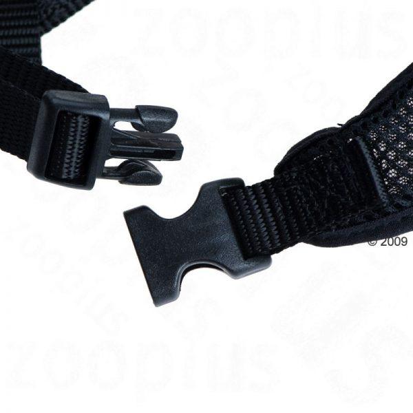 ZOOSHOP.ONLINE - Интернет-магазин зоотоваров - Мягкая шлейка для собак, цвет: черный размер XS