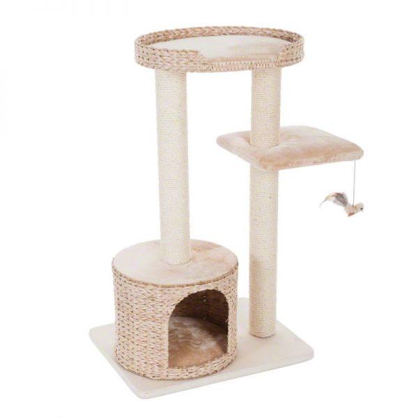 ZOOSHOP.ONLINE - Интернет-магазин зоотоваров - Когтеточка-домик для кошек Natural Home II