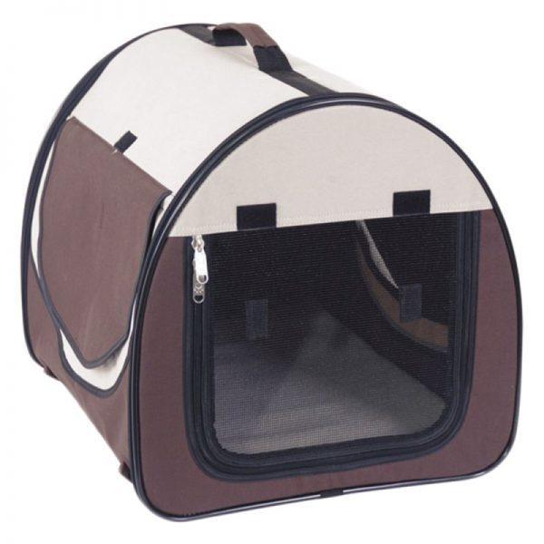 ZOOSHOP.ONLINE - Интернет-магазин зоотоваров - Складная тканевая переноска Easy Go 77 x 57 x 63 см