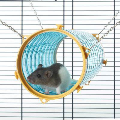 ZOOSHOP.ONLINE - Интернет-магазин зоотоваров - Подвесной тyннель для грызунов с цепочками SAVIC Giant Tube 11 x 31 см