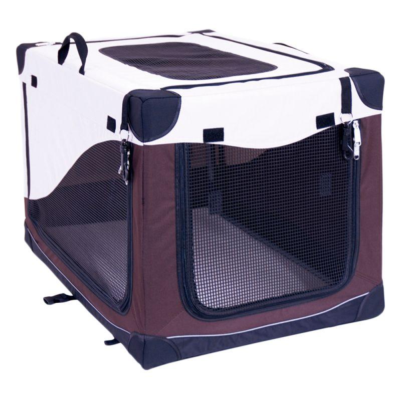 ZOOSHOP.ONLINE - Zoopreču internetveikals - Saliekams auduma būris Portable Pet Homea  L , XL