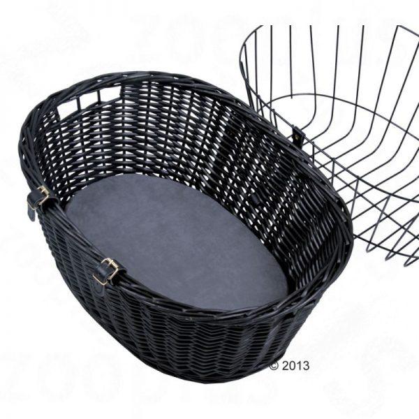 ZOOSHOP.ONLINE - Интернет-магазин зоотоваров - Trixie велосипедная корзина с сеткой Арт.2818  50 x 35 x 41 см