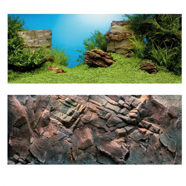 ZOOSHOP.ONLINE - Интернет-магазин зоотоваров - Juwel PosterXL (пейзаж/камни) 150х60см