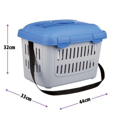 ZOOSHOP.ONLINE - Zoopreču internetveikals - Trixie Midi Capri Transport Box transportēšanas boks plastmasas