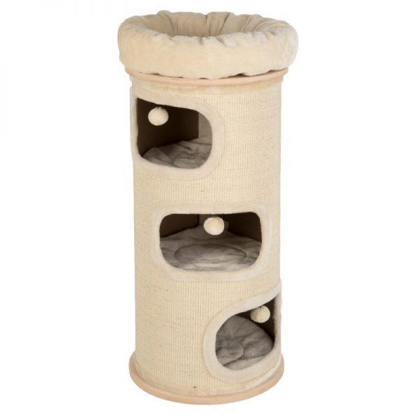 ZOOSHOP.ONLINE - Интернет-магазин зоотоваров - Когтеточка-домик для кошек Natural Paradise Standard L    B 88 x Ø 39 см