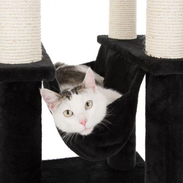 ZOOSHOP.ONLINE - Интернет-магазин зоотоваров - Когтеточка-домик для кошек La Digue II черный