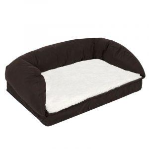 ZOOSHOP.ONLINE - Интернет-магазин зоотоваров - Ортопедическая кровать для собак 75 x 50 x 25 см