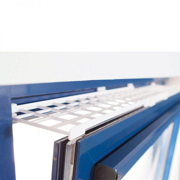 ZOOSHOP.ONLINE - Интернет-магазин зоотоваров - Trixie защитная решетка для окон, сверху / снизу, расширяемая