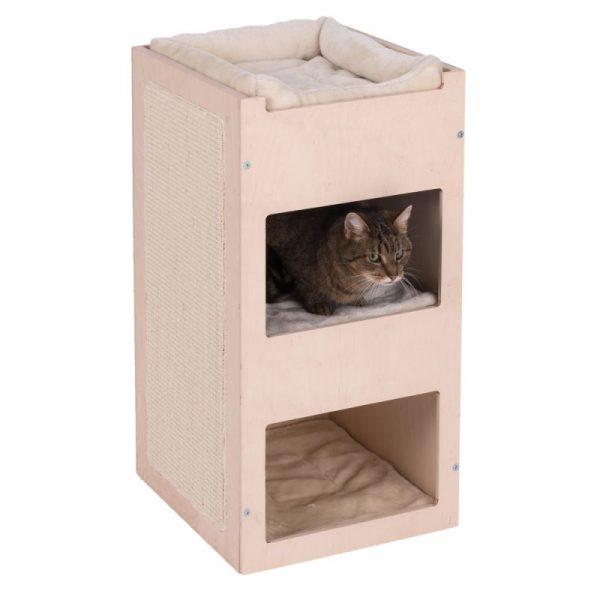 ZOOSHOP.ONLINE - Интернет-магазин зоотоваров - Когтеточка-домик для кошек Natural Paradise