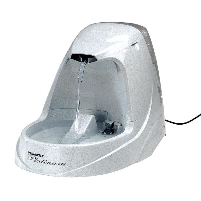 ZOOSHOP.ONLINE - Zoopreču internetveikals - Automātiskā dzirdtava Drinkwell® Pet Fountains -  Platinum 5L