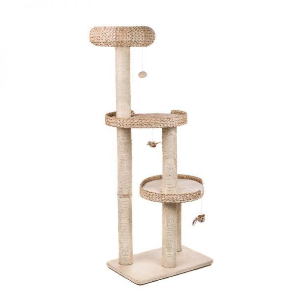 ZOOSHOP.ONLINE - Интернет-магазин зоотоваров - Когтеточка-домик для кошек Natural Home III