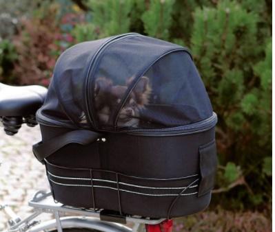 ZOOSHOP.ONLINE - Интернет-магазин зоотоваров - Trixie сумка велосипедная  на багажнике 42 х 29 х 48см