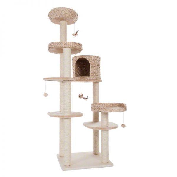 ZOOSHOP.ONLINE - Zoopreču internetveikals - Kaķu māja Natural Home IV