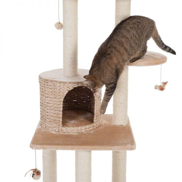 ZOOSHOP.ONLINE - Zoopreču internetveikals - Kaķu māja  Natural Home V