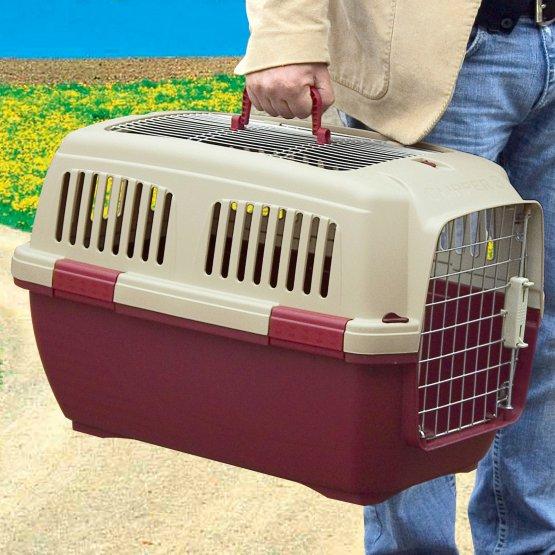 ZOOSHOP.ONLINE - Zoopreču internetveikals - Transportēšanas boks plastmasas Marchioro Clipper Aran