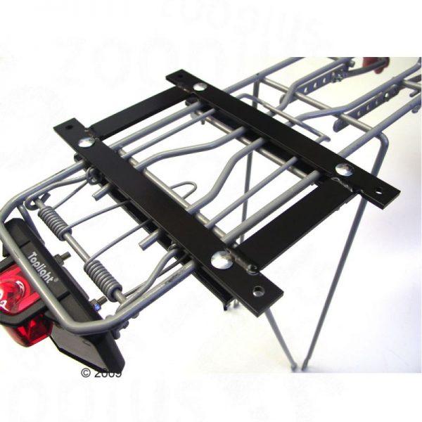 ZOOSHOP.ONLINE - Интернет-магазин зоотоваров - Aumüller велосипедная корзина с сеткой  53 x 35 x В 43 см