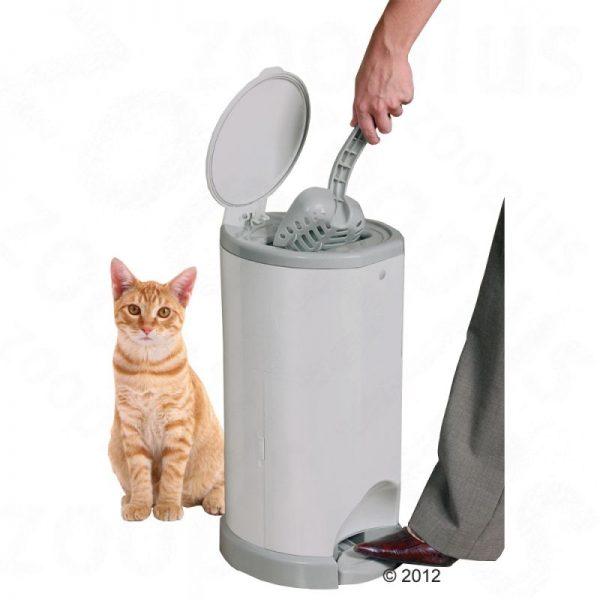 ZOOSHOP.ONLINE - Zoopreču internetveikals - Litter Champ kaķu  pakaišu uzglabāšanas konteineris