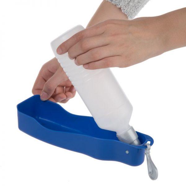 ZOOSHOP.ONLINE - Интернет-магазин зоотоваров - Бутылочка для воды со встроенной поилкой