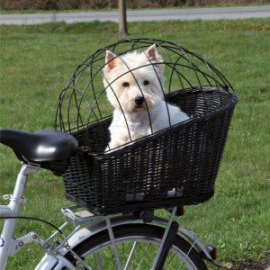 ZOOSHOP.ONLINE - Zoopreču internetveikals - Trixie grozs velosipēdam ar režģi  Art 13117 35 х 49 х 55 сm